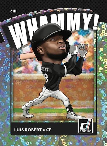 2021 Donruss Baseball Cards Whammy Luis Robert
