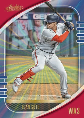 2021 Panini Absolute Baseball Cards Base Spectrum Blue Juan Soto