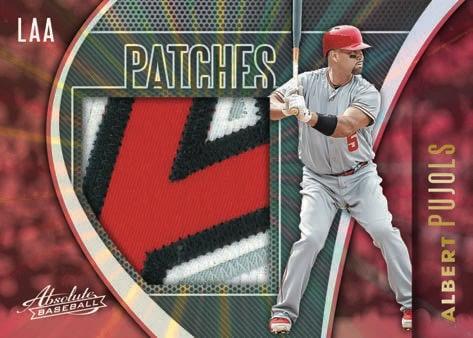 2021 Panini Absolute Baseball Cards Patches Spectrum Albert Pujols
