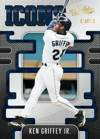 2021 Panini Absolute Baseball Cards icons Ken Griffey Jr