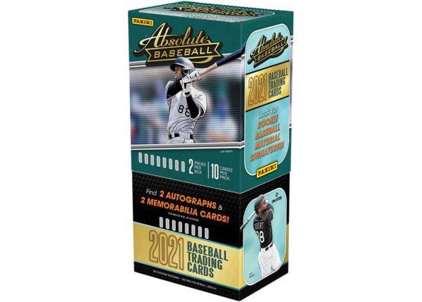 2021 Panini Absolute Baseball Hobby Box