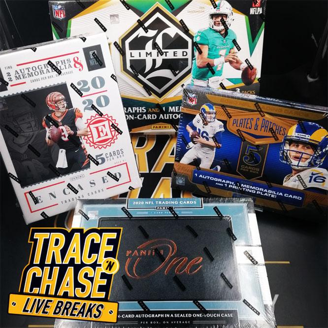 NFL 2020 4 Box Hobby Mixer Random Team Break