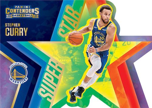 2020 21 Panini Contenders Basketball NBA Cards Superstar Die Cuts Stephen Curry 1