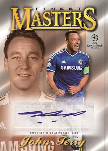 2020 21 Topps Finest UEFA Champions League Soccer Cards Topps 1997 Finest Masters Autograph John Terry