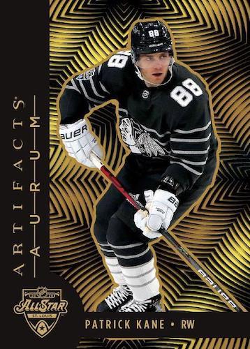 2020 21 Upper Deck Artifacts Hockey Cards Aurum Bounty SP Veteran All Stars Patrick Kane