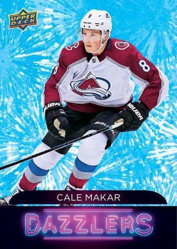2020 21 Upper Deck Series 1 Hockey Cards Cale Makar Dazzlers