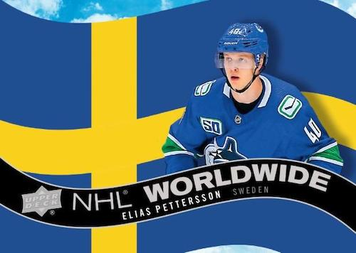 2020 21 Upper Deck Series 1 Hockey Cards NHL Worldwide Elias Pettersson