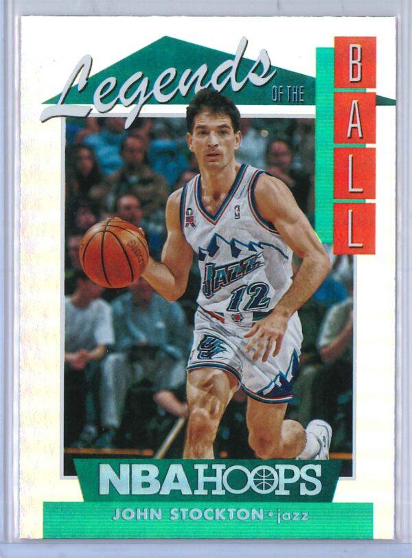 John Stockton Panini Hoops Basketball 2018 19 Legends Of The Ball 1