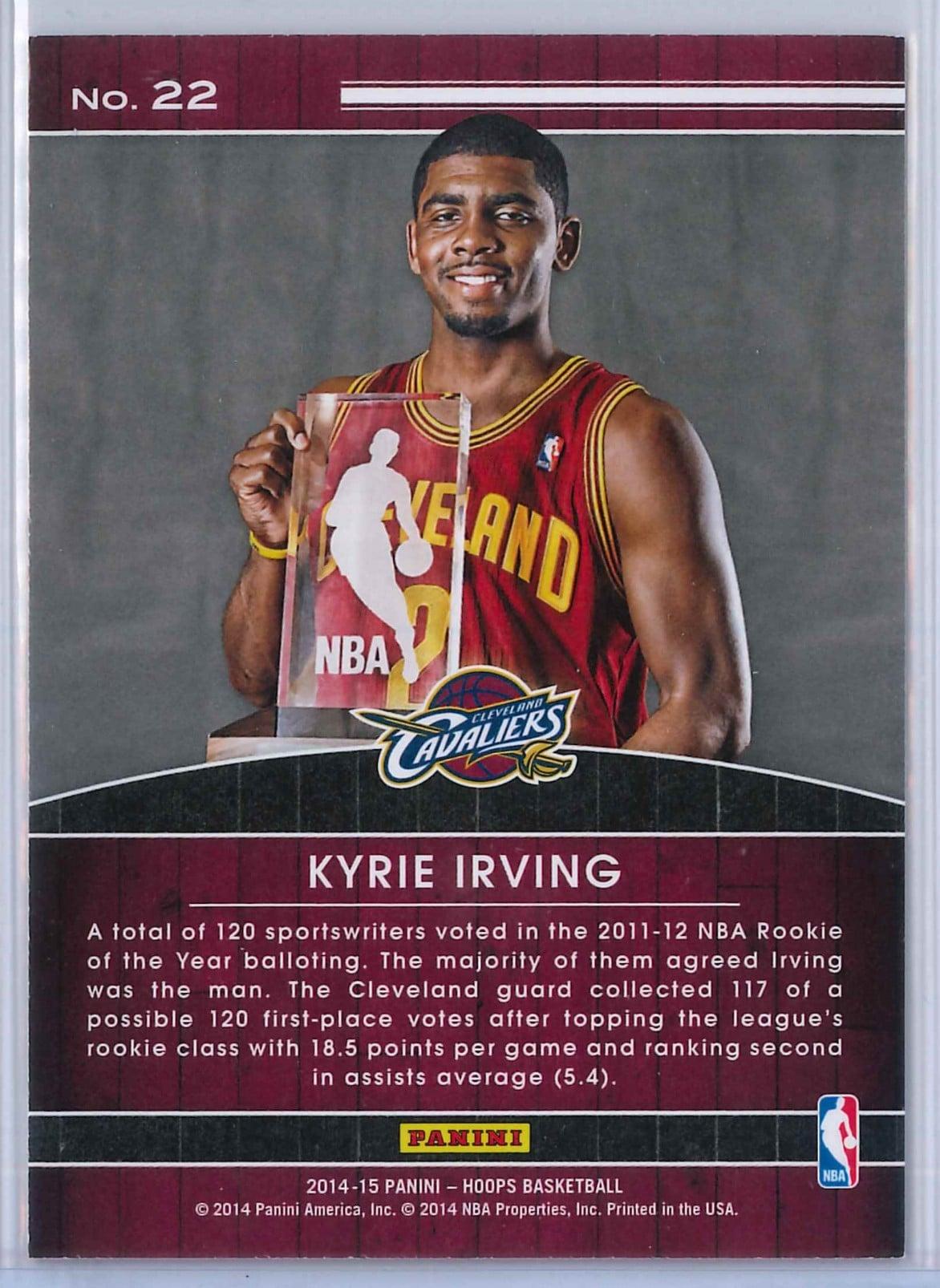 Kyrie Irving Panini Hoops Basketball 2014 15 High Honors 2