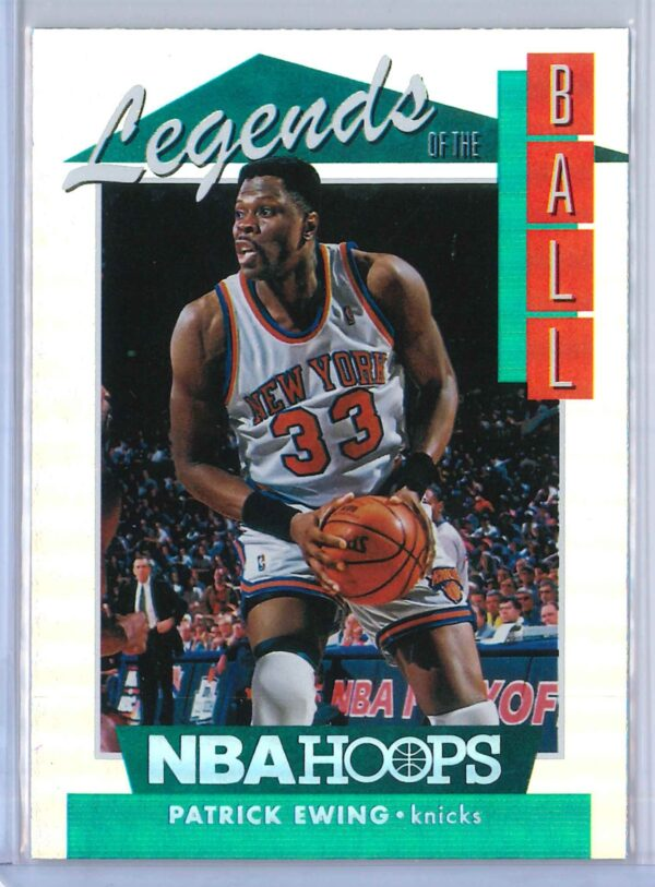 Patrick Ewing Panini Hoops Basketball 2018 19 Legends Of The Ball 1