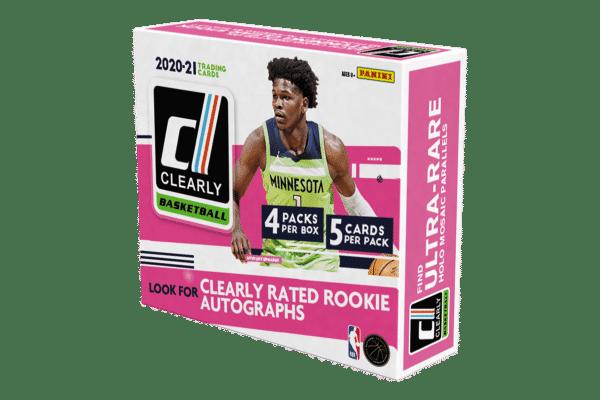2020-21 Panini Clearly Donruss Basketball Cards Hobby Box