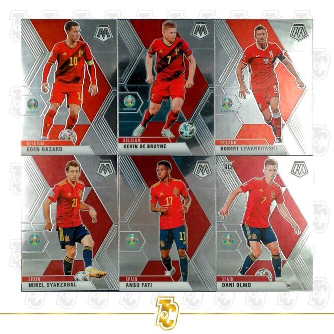2020 21 Panini Mosaic Euro 2020 Complete Set 1 200 Cards 2