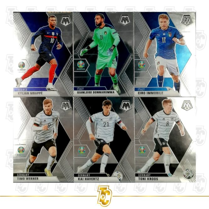 2020 21 Panini Mosaic Euro 2020 Complete Set 1 200 Cards 3