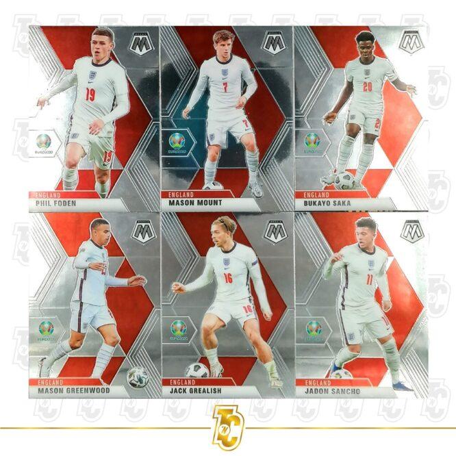 2020 21 Panini Mosaic Euro 2020 Complete Set 1 200 Cards 4