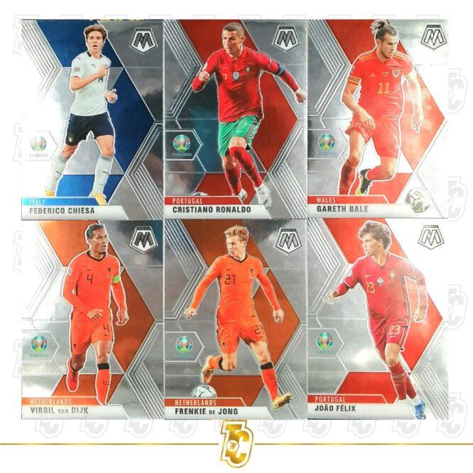 2020 21 Panini Mosaic Euro 2020 Complete Set 1 200 Cards 5