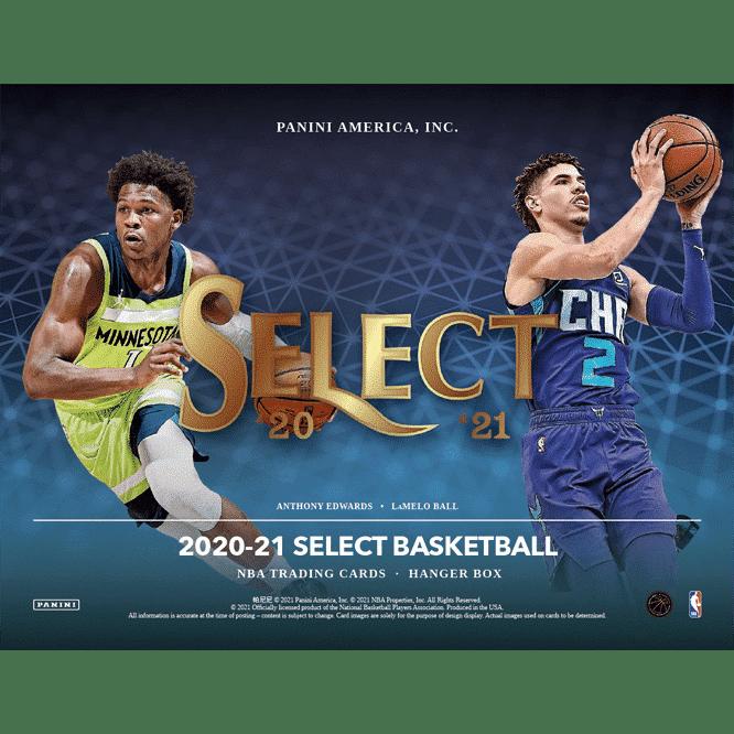 2020 21 Panini Select Basketball Cards Hanger Box