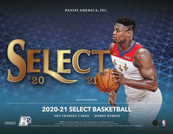 2020 21 Panini Select Basketball Cards Hobby Hybrid Box