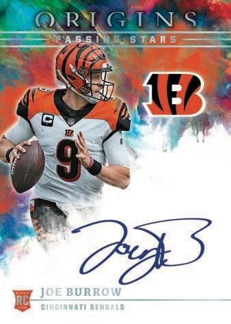 2021 Panini Origins Football NFL Cards Passing Stars Autographs RC auto