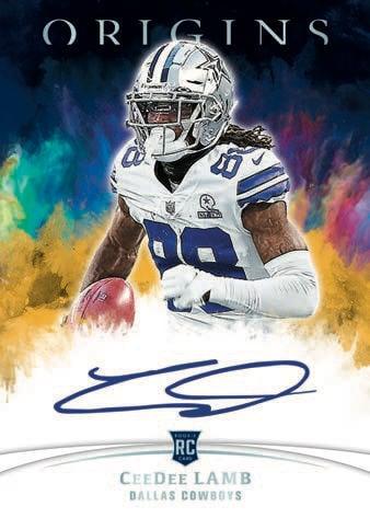 2021 Panini Origins Football NFL Cards Rookie Autographs RC auto