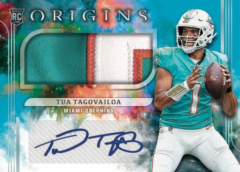 2021 Panini Origins Football NFL Cards Rookie Jumbo Patch Autographs RC