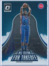 Andre Drummond Panini Donruss Optic Basketball  2017-18 All Clear For Takeoff