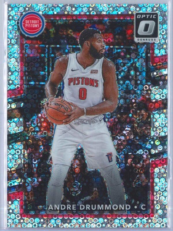 Andre Drummond Panini Donruss Optic Basketball 2017-18  Fast Break Holo