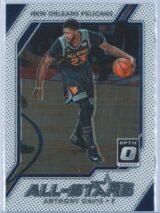 Anthony Davis Panini Donruss Optic Basketball 2017-18 All Stars