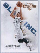 Anthony Davis Panini Excalibur Basketball 2014-15 Slam Inc