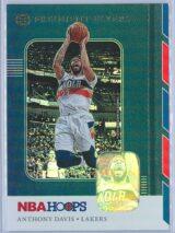Anthony Davis Panini NBA Hoops Basketball 2019-20 Frequent Flyers Holo