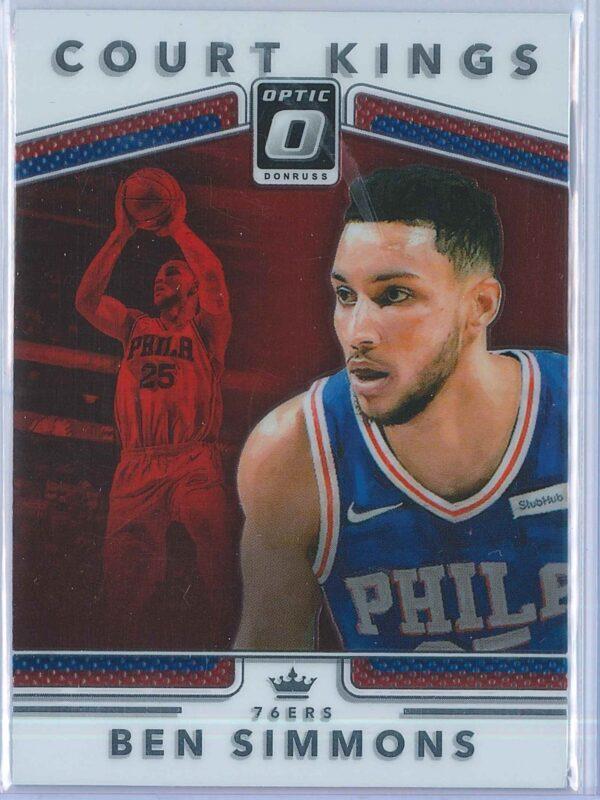 Ben Simmons Panini Donruss Optic Basketball  2017-18 Court Kings