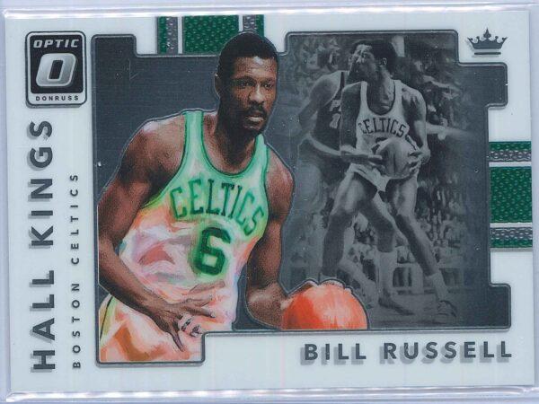Bill Russel Panini Donruss Optic Basketball 2017-18 Hall Kings