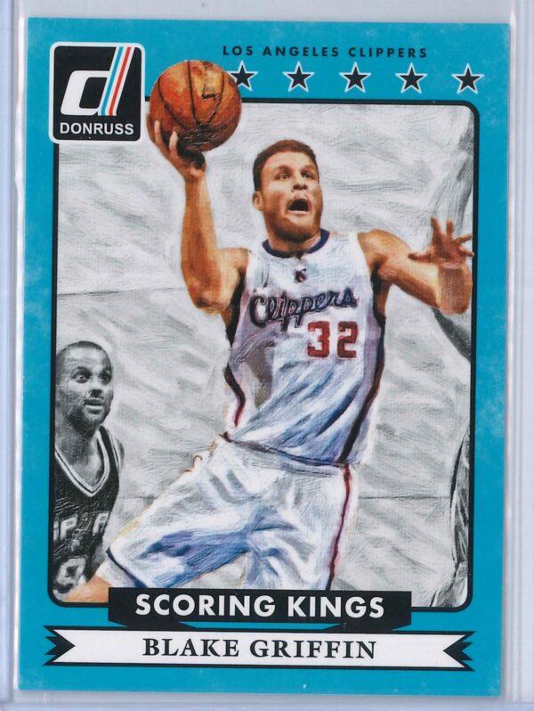 Blake Griffin Panini Donruss Basketball 2014 15 Scoring Kings 1