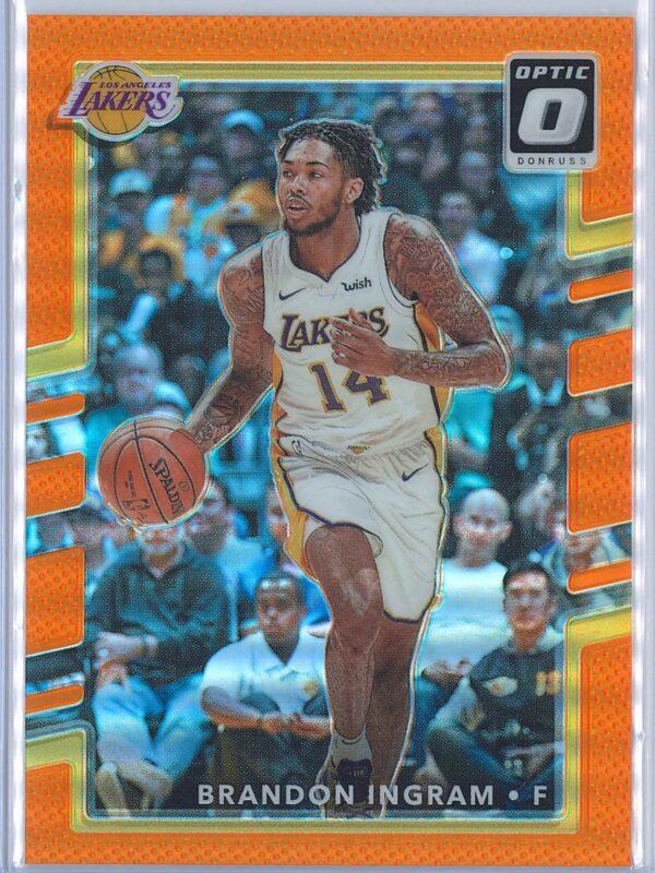 Brandon Ingram Panini Donruss Optic Basketball 2017-18  Orange 164199