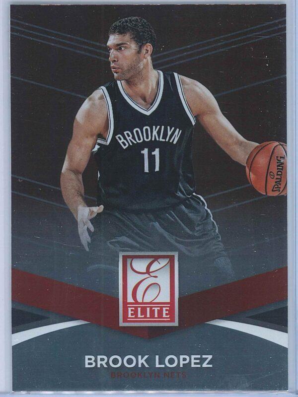 Brook Lopez Panini Donruss Basketball 2014-15 Elite