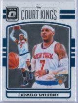 Carmelo Anthony Panini Donruss Optic Basketball 2016-17 Court Kings