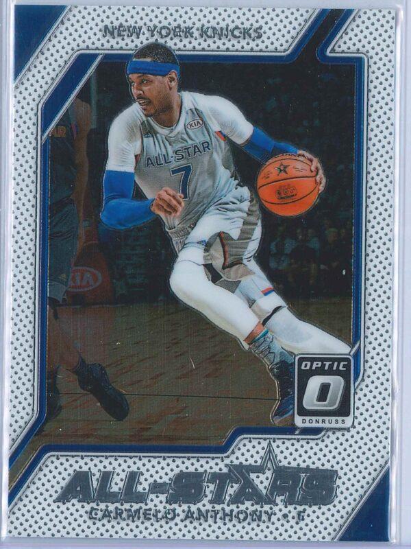 Carmelo Anthony Panini Donruss Optic Basketball 2017-18 All Stars