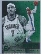 Carmelo Anthony Panini Essentials 2017-18  Green