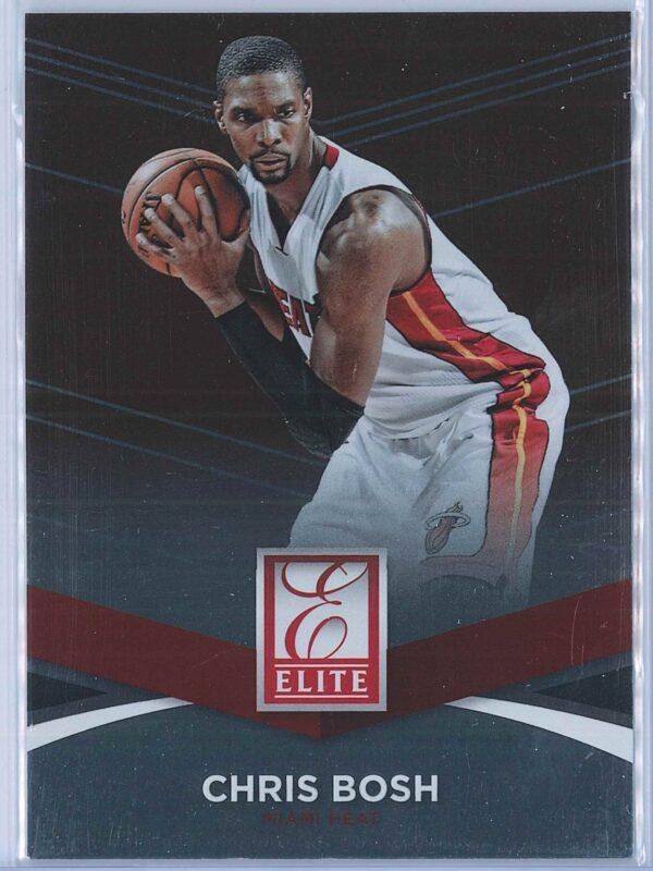 Chris Bosh Panini Donruss Basketball 2014-15 Elite