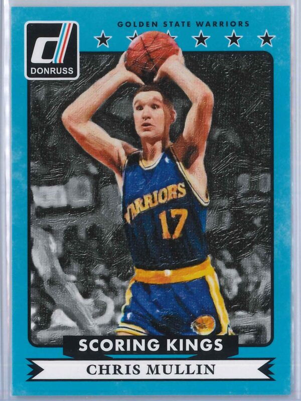 Chris Mullin Panini Donruss Basketball 2014 15 Scoring Kings 1 scaled