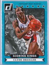 Clyde Drexler Panini Donruss Basketball 2014 15 Scoring Kings 1 scaled