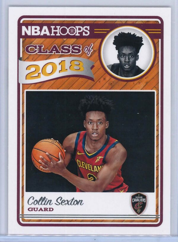 Colin Sexton Panini NBA Hoops Basketball 2018-19 Class of 2018