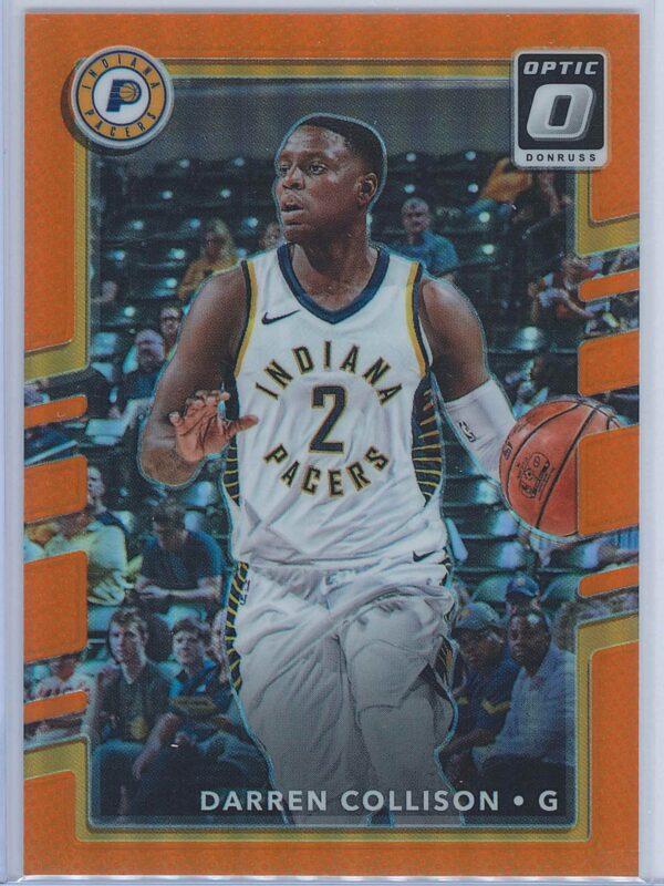 Darren Collison Panini Donruss Optic Basketball 2017-18  Orange 088199