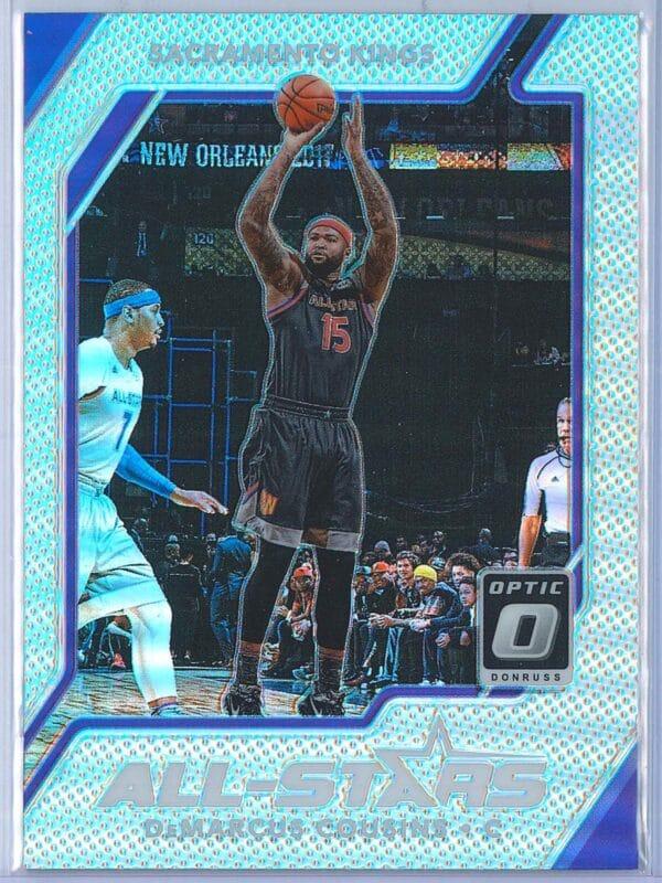 DeMarcus Cousins Panini Donruss Optic Basketball 2017-18 All Stars Holo