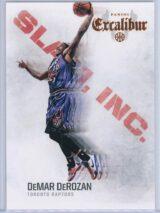 DeMar DeRozan Panini Excalibur Basketball 2014-15 Slam Inc