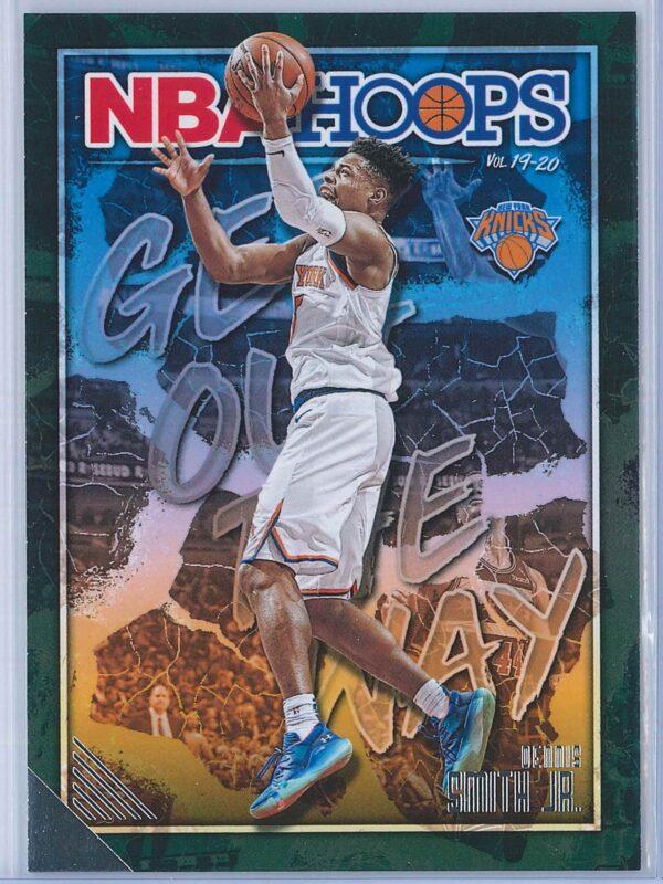 Dennis Smith Jr. Panini NBA Hoops Basketball 2019-20 Get Out The Way