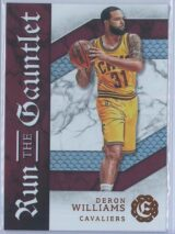 Deron Williams Panini Excalibur Basketball 2016-17 Run The Gauntlet