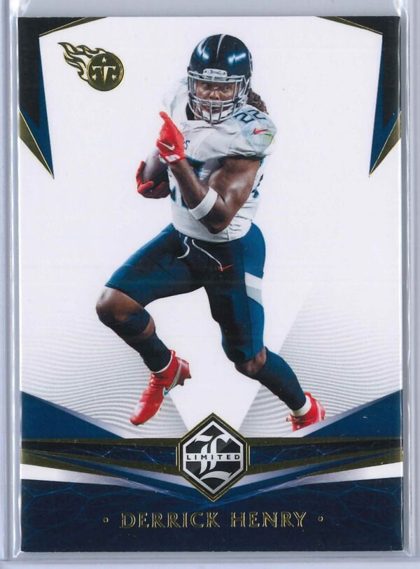 Derrick Henry Panini Limited 2020  Gold