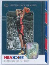 Derrick Jones Jr. Panini NBA Hoops Basketball 2019-20 Frequent Flyers