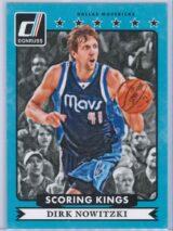 Dirk Nowitzki Panini Donruss Basketball 2014 15 Scoring Kings 1 scaled
