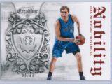 Dirk Nowitzki Panini Excalibur Basketball 2014 15 Nobility Red 8599 1